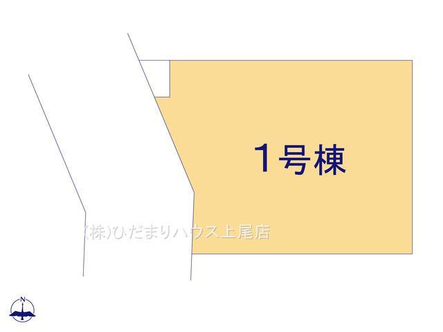 【区画図】北本市下石戸下 1期 新築一戸建て 01