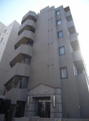 「外壁タイル貼のマンション」