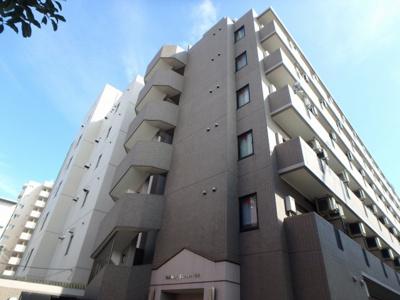 京急本線「大森町駅」徒歩3分のマンションです。