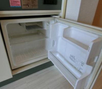 ミニ冷蔵庫がついてます