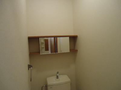 トイレ収納棚(イメージ)