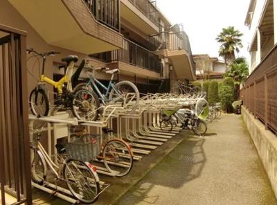 モナークサンシティ練馬の駐輪場です。