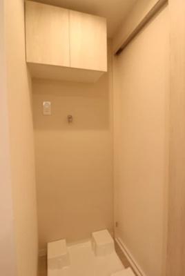 モナークサンシティ練馬の洗濯機置場です。