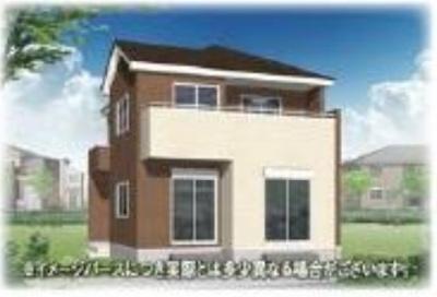 【外観パース】所沢市堀之内 全5棟(残り2棟) 1号棟