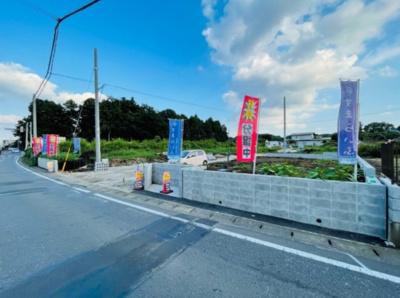 【前面道路含む現地写真】所沢市堀之内 全5棟(残り2棟) 1号棟