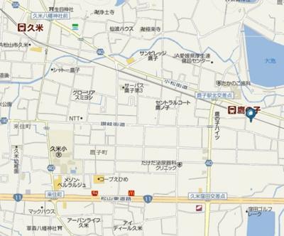 【周辺】ステーションハウス久米Ⅲ・