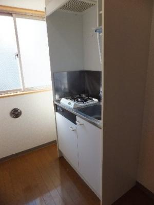 ☆ミニ冷蔵庫付きキッチン※反転タイプの写真です