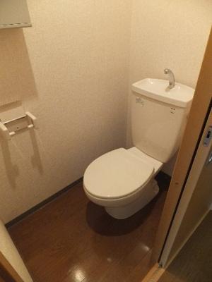 ☆手洗い付きトイレ※別部屋の参考写真です