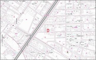 【地図】小山市西城南五丁目 中古一戸建て