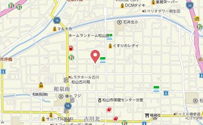 【地図】リナーシェ古川北