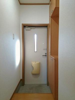 【玄関】キャッスルハイツ