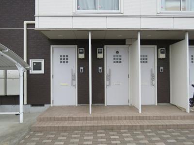 【玄関】ガーデンハイツA