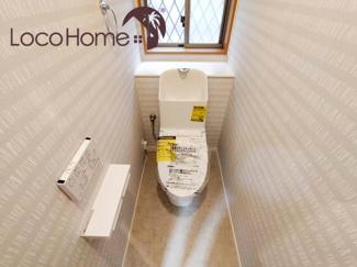 シンプルで使いやすいトイレです 2021年9月24日現地撮影