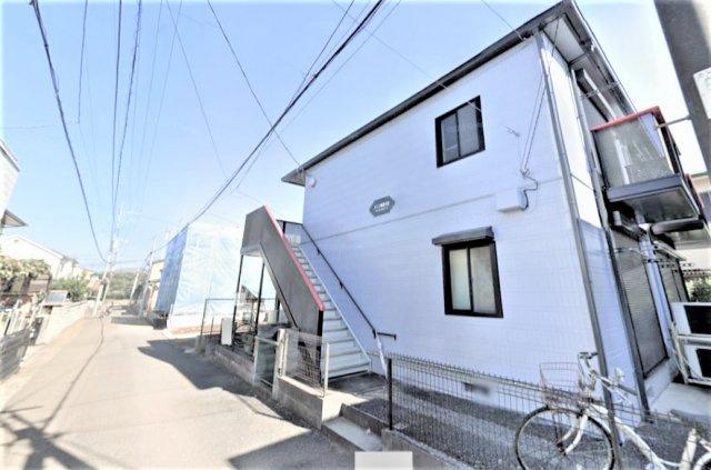 【外観】八千代市大和田の一棟売りアパート