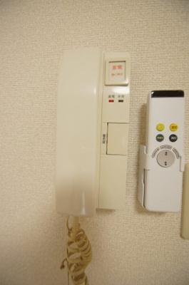 受話器つきインターホン