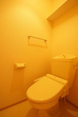 温水洗浄便座付個室トイレ