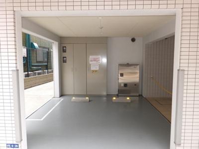 【駐車場】スカイコート蒲田弐番館