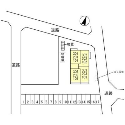 【区画図】アールヴォリ町村