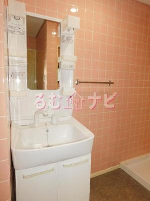 【洗面所】レジデンス安戸