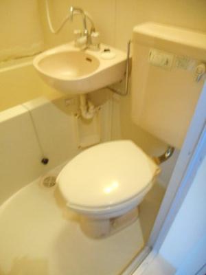 【トイレ】あるゾウパレス富士見