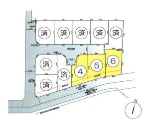 西東京市役所保谷庁舎近くの落ち着いた住環境、全11区画です