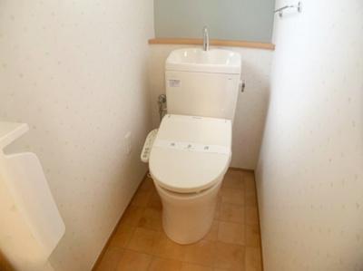 清潔感んのあるトイレです。