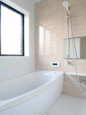 浴室乾燥機付きのため、雨の日も安心です。