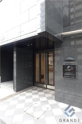 【エントランス】ファステート大阪城東グリッジ