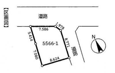 【区画図】中古住宅 蕨市南町3丁目