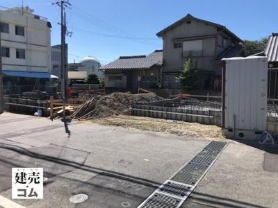 明石市和坂1丁目第4 新築一戸建て 2021/9/21現地撮影