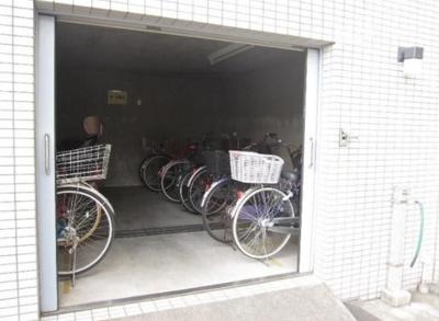 クリオ吉祥寺壱番館の駐輪場です。