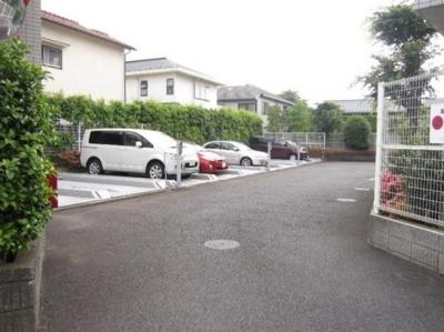 クリオ吉祥寺壱番館の駐車場です。