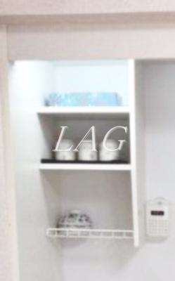 キッチン収納です。(モデルルームです)