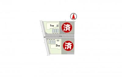 3号棟 区画図