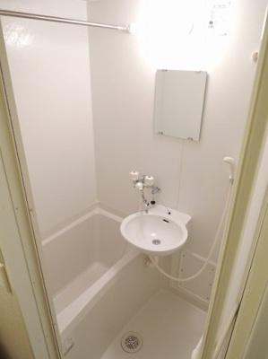 【浴室】レオパレス新柏
