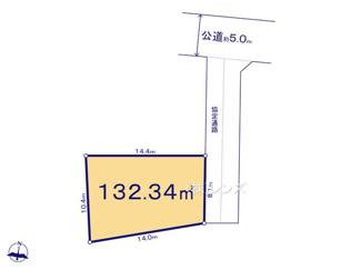 A区画:協定部分含む建築有効面積は172.65平米になります