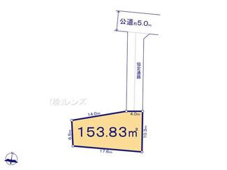 B区画:協定部分含む建築有効面積は194.86平米になります