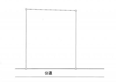 【区画図】土地 横浜線 相原駅 橋本駅 店舗 住居 建築条件なし