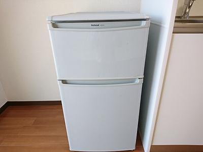 備付の冷蔵庫です。