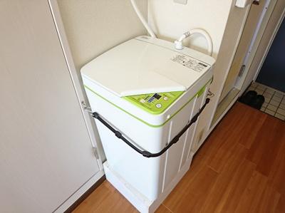 新品の洗濯機になります。