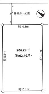 【区画図】市原市うるいど南 売地 JR内房線「八幡宿駅」