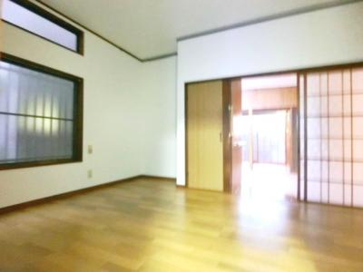 【居間・リビング】石井町テラスハウス