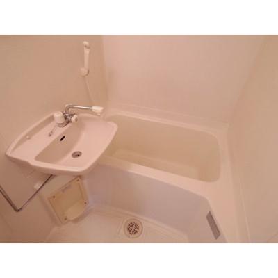 【浴室】コーポ六亀