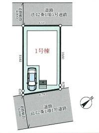 【区画図】神戸市垂水区潮見が丘1丁目新築一戸建て