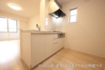 【キッチン】コーポ・エテルナ5 B