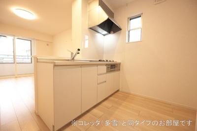 【キッチン】コーポ・エテルナ5 A