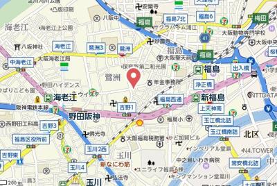 【地図】アルグラッド鷺洲公園