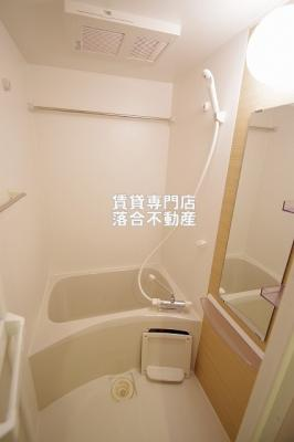 浴室換気付き