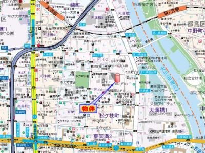 【地図】エスリード同心第5