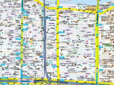 【地図】プランドール大手前レジデンス
